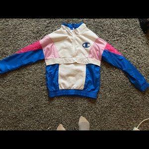 Quarter zip Champion sweatshirt